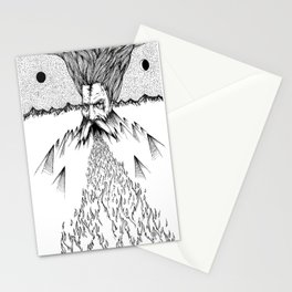 Mountains Of Might Stationery Cards
