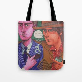 Stagger Meets Lenny Tote Bag
