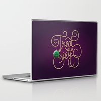 treat yo self Laptop & iPad Skins featuring Treat Yo Self by Nana Adwoa Sey