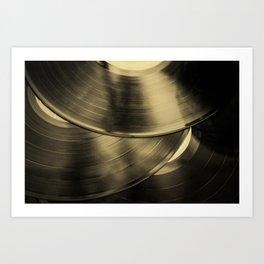 Vintage Vinyl II Art Print