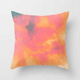 Sun Stroked Throw Pillow
