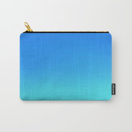 Blue Ombre Carry-All Pouch
