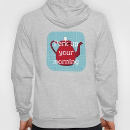 Retro Coffee Pots and Cups Pattern Hoody