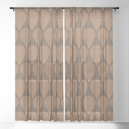 Location No. 1 -- Brown Sheer Curtain