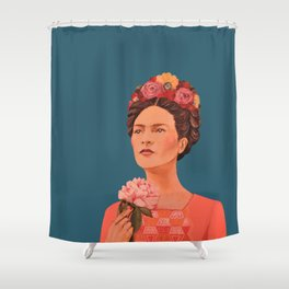 moi, Frida! Shower Curtain