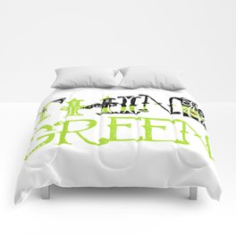 Think Green - Elphaba - Wicked Comforters