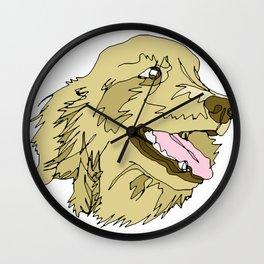 Golden Days Wall Clock
