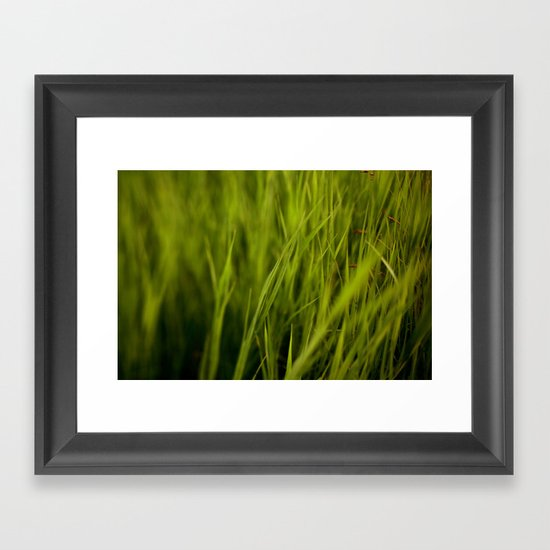Greener #2 Framed Art Print