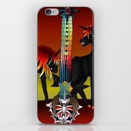 Fusion Keyblade Guitar #189 - Unicornis' Keyblade & Twilight Blaze iPhone Skin