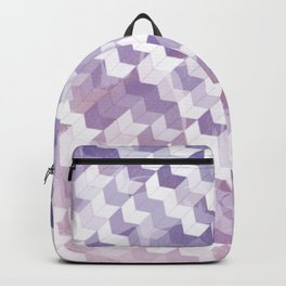 Abstract Geometric Cubes Design Backpack
