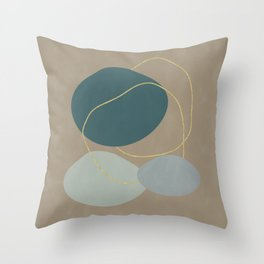 Mid Century Throw Pillow