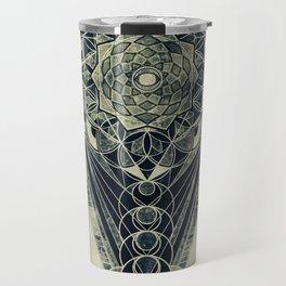 Sacred Geometry for your daily life -  Galactic OHM Travel Mug