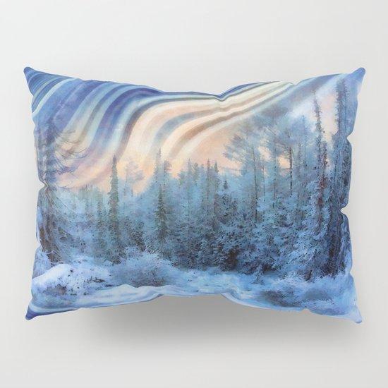 Surreal winter forest Pillow Sham