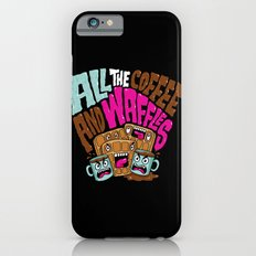 ALL THE COFFEE AND WAFFLES iPhone 6s Slim Case