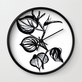 Kava Wall Clock