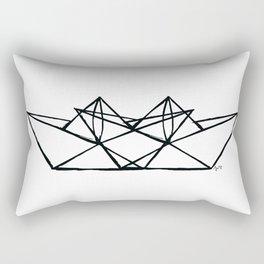 paper boats Rectangular Pillow