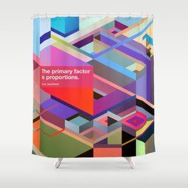 Proportions Shower Curtain