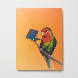 Love Bird online dating Metal Print