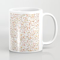 giraffes Mugs featuring Giraffes by Alison Sadler's Illustrations
