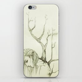 The Burden of Growth iPhone Skin