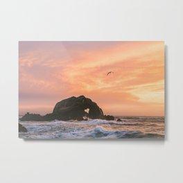 Love Rock at Sutro Baths | San Francisco, California Metal Print