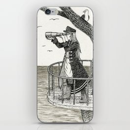 To Look at the Sea iPhone Skin