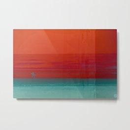 The Surf - Sundowner Metal Print
