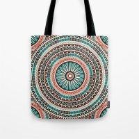 islam Tote Bags featuring Endless mandala by Rceeh