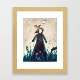 Declaration of winter Framed Art Print