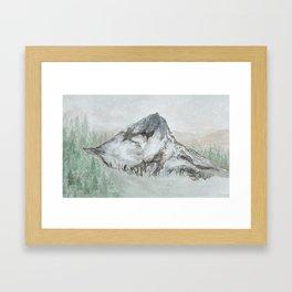 Mountains Beyond Mountains Framed Art Print