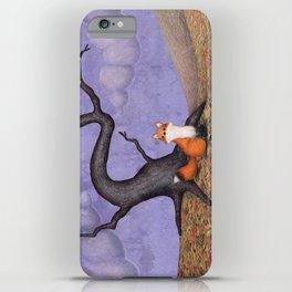 the rainy fox iPhone Case