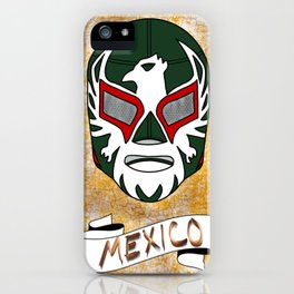 Mexican Luchador Mask iPhone Case