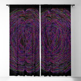 confusion in color Blackout Curtain