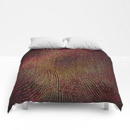 Warm Ruby Mist Comforters