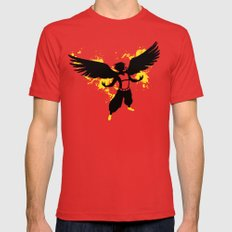 Xaneth Antaris X-LARGE Red Mens Fitted Tee