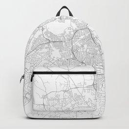 Nashville, United States Minimalist Map Backpack