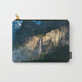 Bridalveil Fall ~ Yosemite National Park  Carry-All Pouch