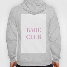 Babeclub white Hoody