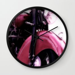 Motorcycle-Poster Wall Clock