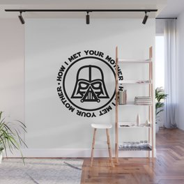 darth-mother Wall Mural