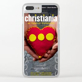 Christiania - 40 Years of Occupation Clear iPhone Case
