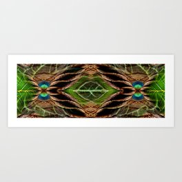 Leafy Pandanus Art Print