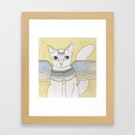 Blanka Cat Fairy Framed Art Print