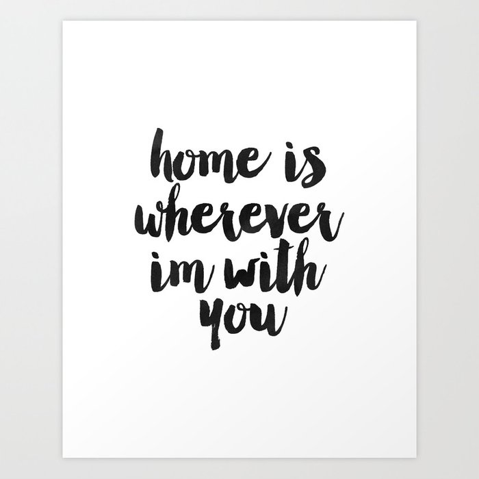 photograph regarding Welcome Home Sign Printable identified as Printable Artwork,House Is Anyplace Im With By yourself,Dwelling Signal,House Decor,Welcome Residence,Typography Artwork Artwork Print by way of alextypography