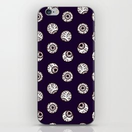 the big brother watches. eye pattern iPhone Skin