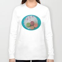 macarons Long Sleeve T-shirts featuring Macarons by Jessica Torres Photography