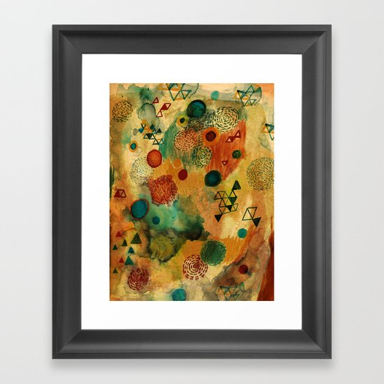 Creative Attraction Framed Art Print