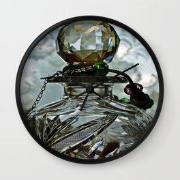 Crystal Perfection Wall Clock