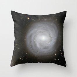 Spiral Galaxy NGC 4921 Throw Pillow