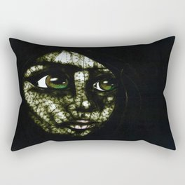 Night Eyes Rectangular Pillow